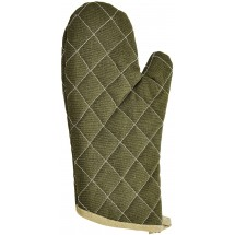 Winco OMF-13 Flame Resistant Oven Mitts 13""