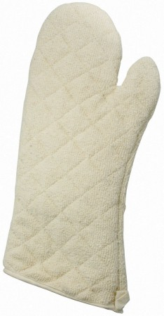 Winco OMT-17 Terry Mitt with Silicone Lining