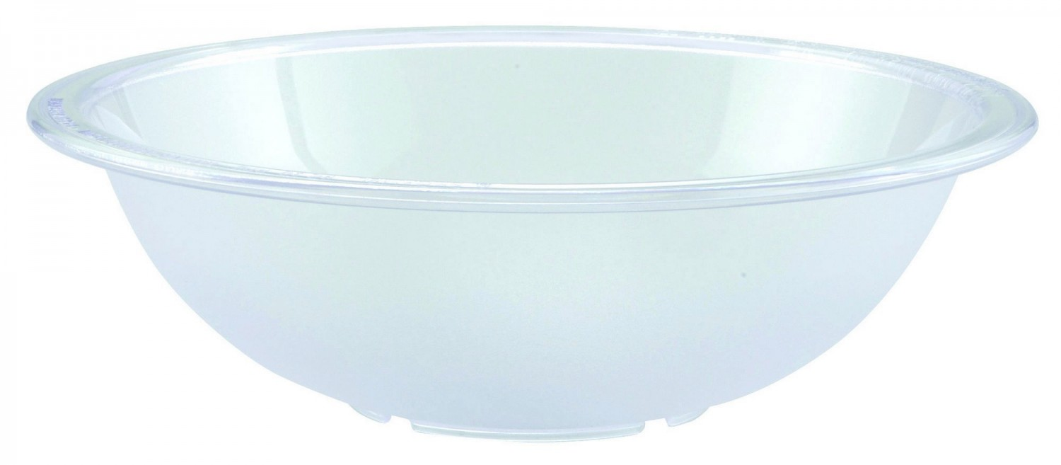 Winco PBB-10 Polycarbonate Pebbled Salad Bowl 10""