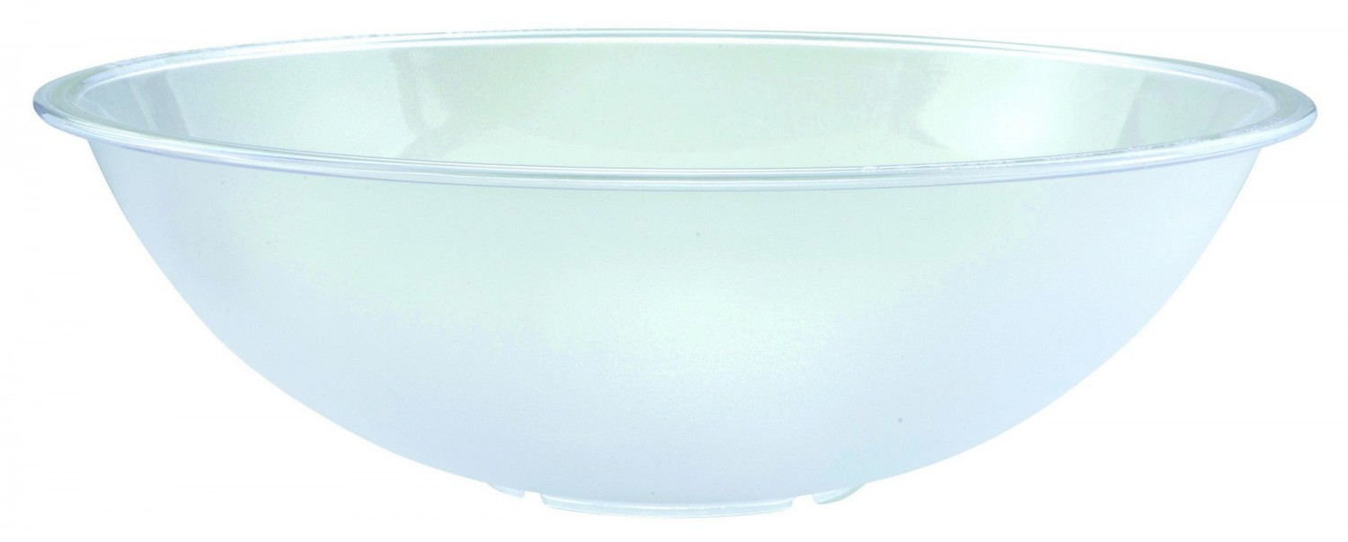 Winco PBB-18 Polycarbonate Pebbled Salad Bowl 18""