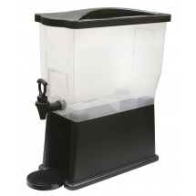 Winco PBD-3 Slim Plastic Beverage Dispenser 3 Gallon