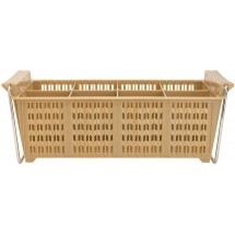 Winco PCB-8 8-Compartment Cutlery Basket with Handles