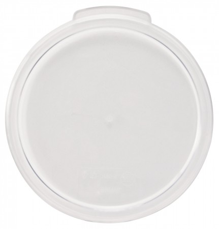 Winco PCRC-68C Clear Round Cover for PCRC-6,8