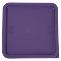 Winco PECC-128P Purple Allergen-Free Cover for 12, 18 & 22 Qt. Containers