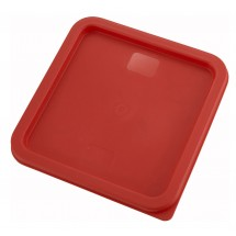 Winco PECC-68 Red Container Cover 6 & 8 Qt.
