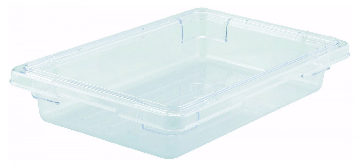 "Winco PFSH-3 Food Storage Box 12"" x 18"" x 3-1/2"""
