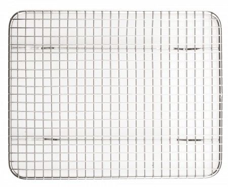 "Winco PGWS-810 Stainless Steel Wire Pan Grate 8"" x 10"""