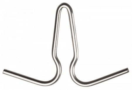 Winco PH-2 Stainless Steel Pot Hook 6""