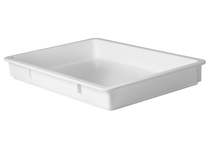 Winco PL-3N White Pizza Dough Box 25-5/8″ x 18″ x 3-1/4″