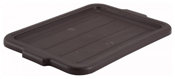 Winco PL-57B Brown Dish Box Cover for PL-5/7 Series
