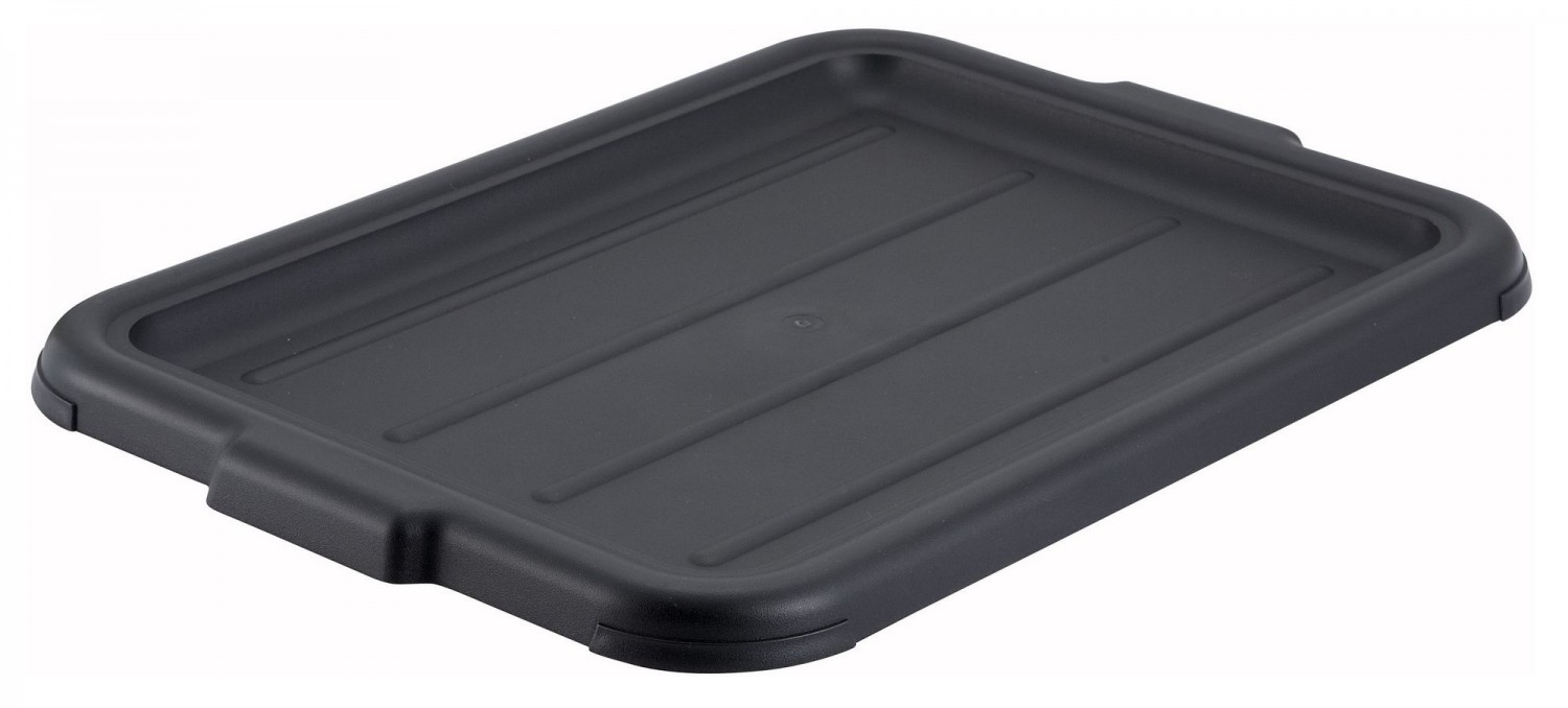 Winco PL-57K Black Dish Box Cover for PL-5/7 Series