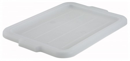 Winco PL-57W White Dish Box Cover for PL-5/7 Series