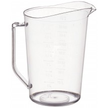 Winco PMU-400 Polycarbonate Measuring Cup 4 Qt.