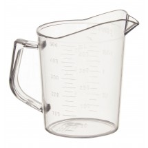 Winco PMU-50 Polycarbonate Measuring Cup 1 Pint