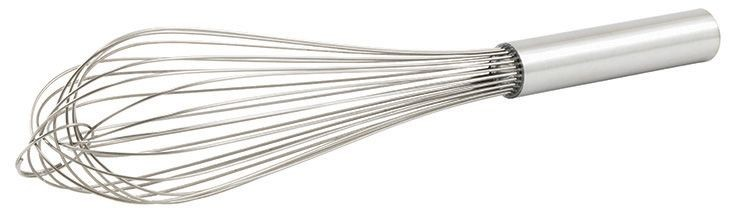 Winco PN-10 Stainless Steel Piano Wire Whip 10""