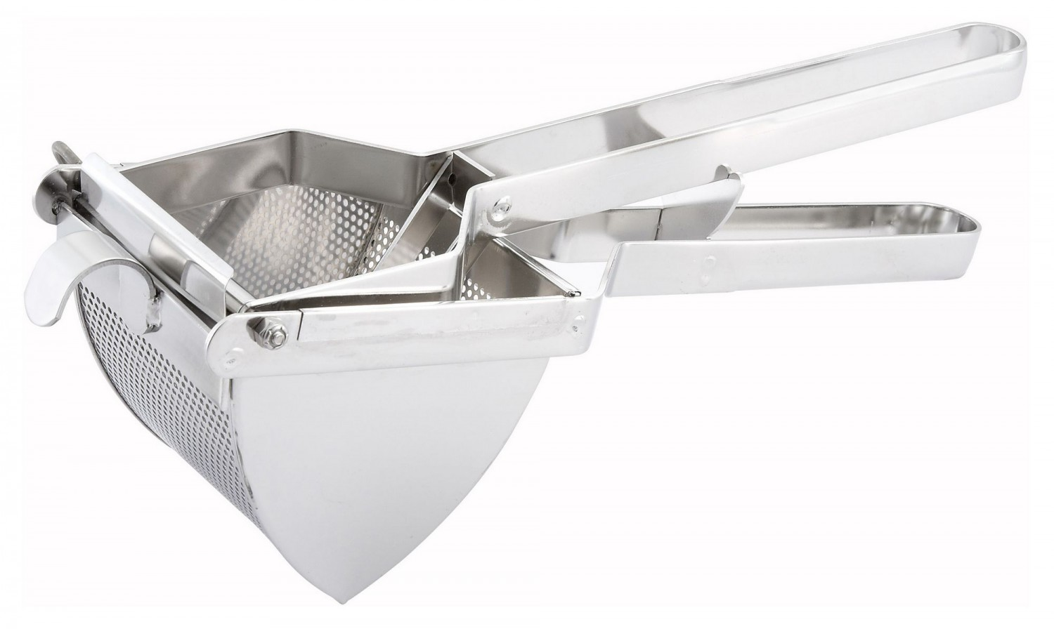 Winco PR-16 Square Stainless Steel Potato Ricer