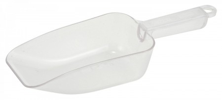 Winco PS-20 Polycarbonate Scoop 20 oz.