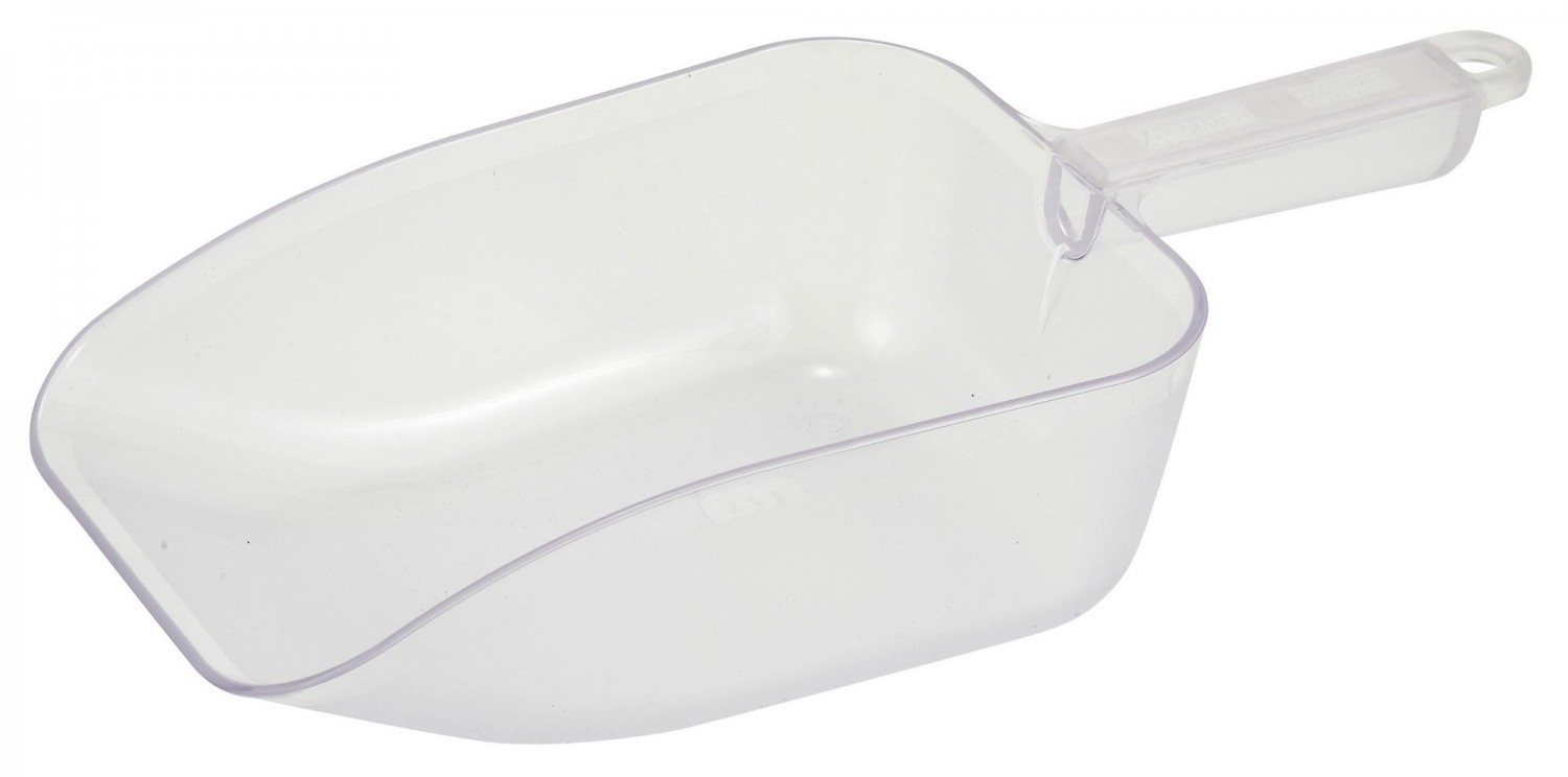 Winco PS-50 Polycarbonate Scoop 50 oz.