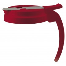 PSUD-Rlid Lid for 32 oz. 48 oz. Syrup Dispenser, Red