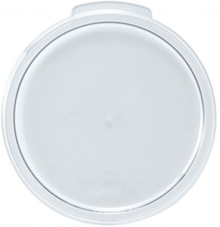 Winco PTRC-1C Translucent Round Storage Container Cover