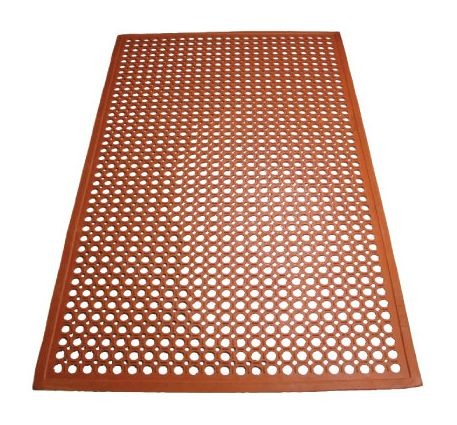 Winco RBM-35R Grease Proof Red Floor Mat