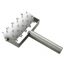 Winco RD-5 Full Size Dough Roller Docker With Stainless Steel Handle