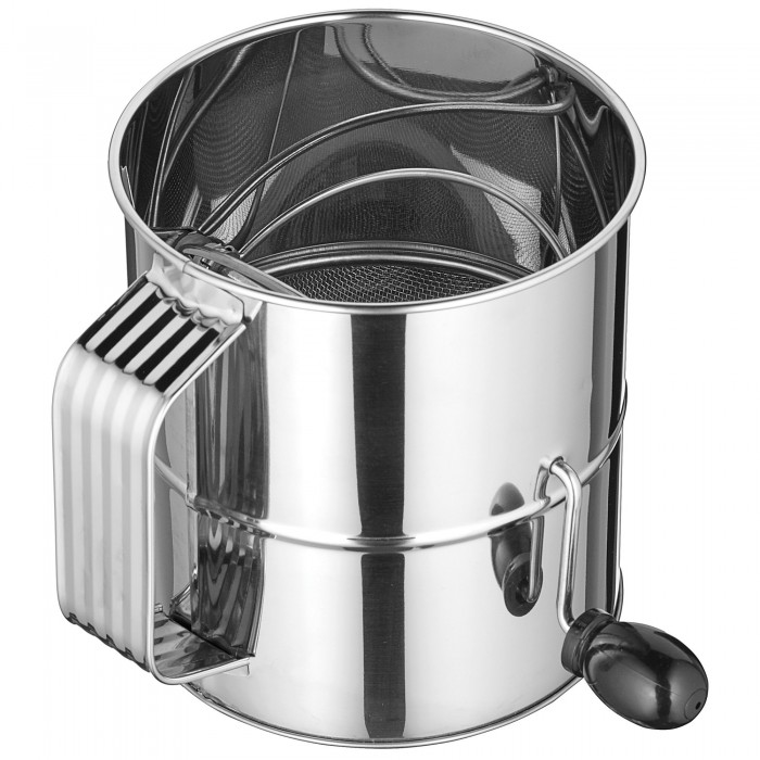 Winco RFS-8 8 Cup Rotary Sifter