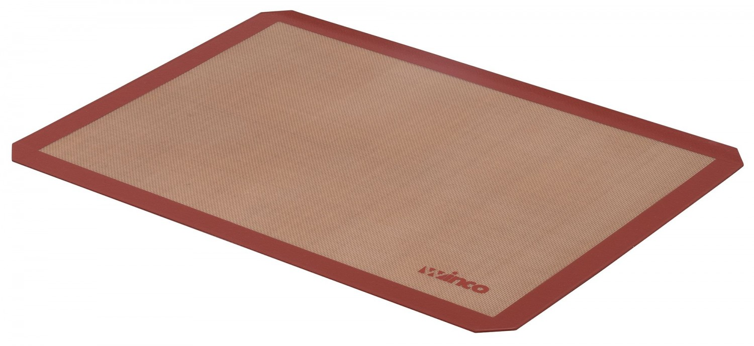 "Winco SBS-21 Silicone Square Baking Mat 14-7/16"" x 20-1/2"""