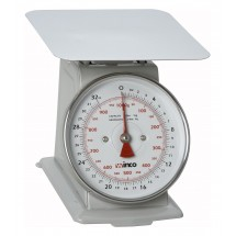 "Winco SCAL-62 2 Lb. Scale  with 6"" Dial"