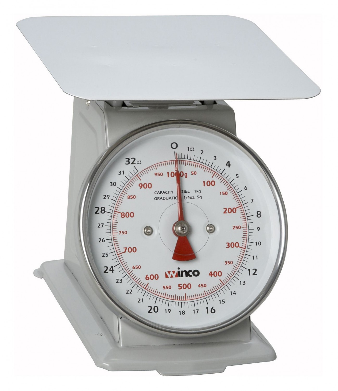 "Winco SCAL-62 Scale 2 Lb with 6"" Dial"