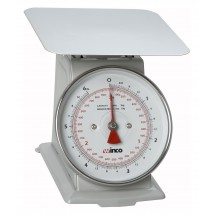 "Winco SCAL-66 Scale 6 Lb. with 6-1/2"" Dial"