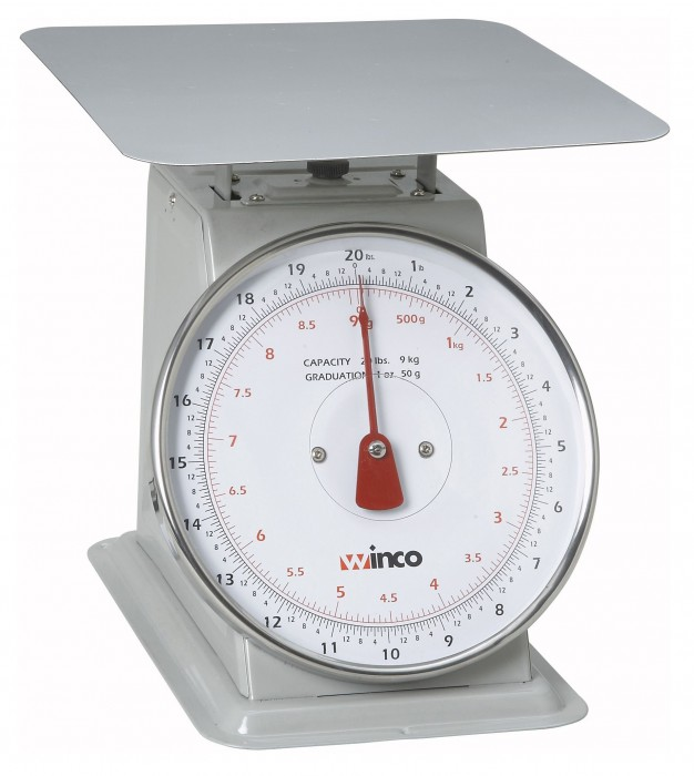 Winco SCAL-820 20 LB Scale