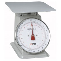 "Winco SCAL-820 Scale with 8"" Dial 20 Lb."