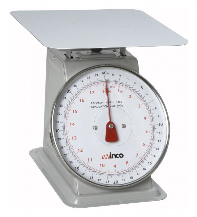 Winco SCAL-840 40 LB Scale
