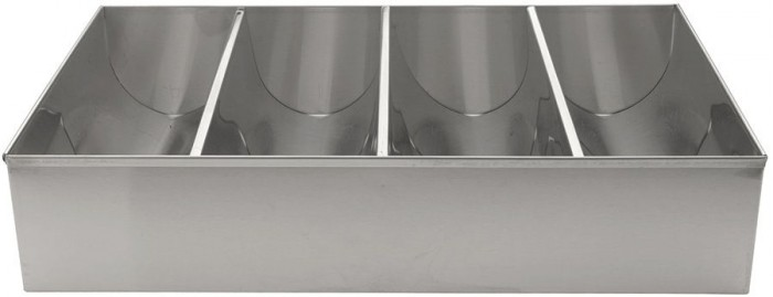 Winco SCB-4 4 Compartment Cutlery Bin