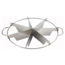 Winco SCU-7 7-Cut Stainless Steel Pie Cutter