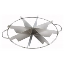 Winco SCU-8 Stainless Steel Pie Cutter 8-Cut