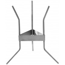 Winco SF-7R Stainless Steel Funnel Rack for Confectionery Funnel SF-7R