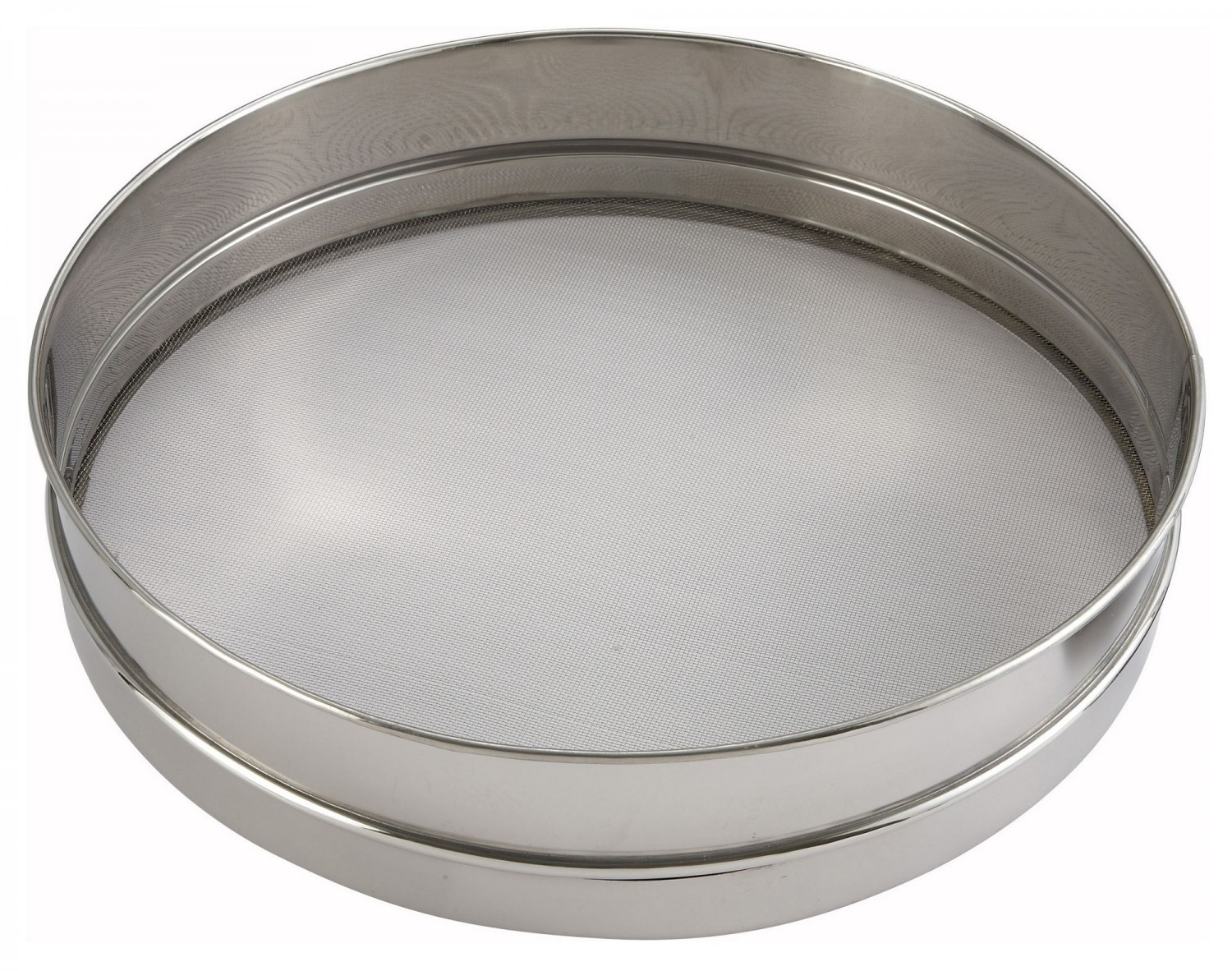Winco SIV-14 Stainless Steel Mesh Sieve 14""