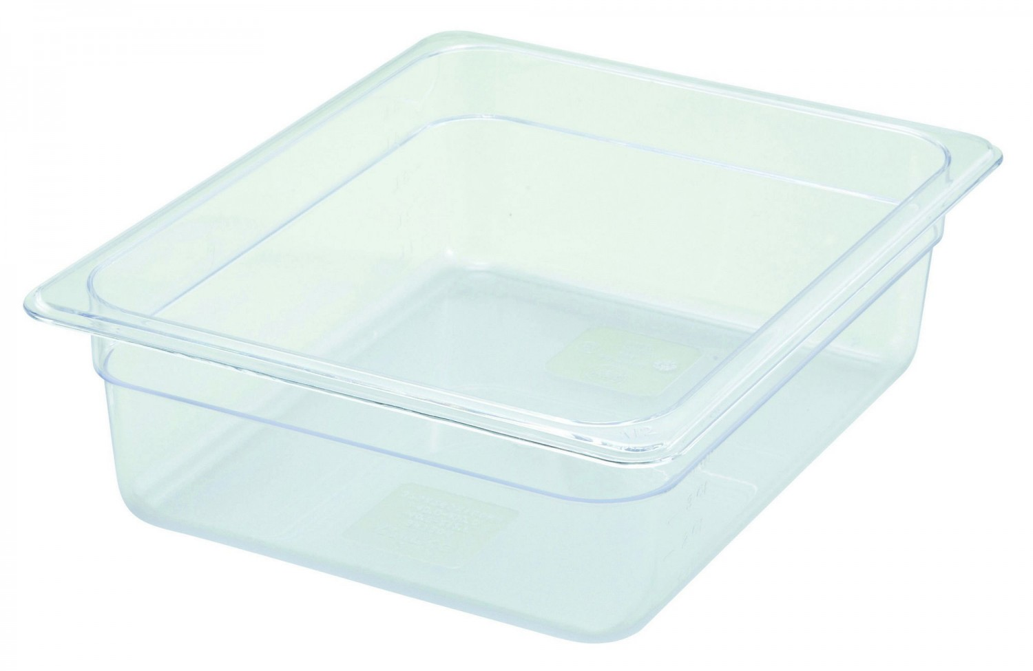 Winco SP7204 Half Size Food Pan 3-1/2""