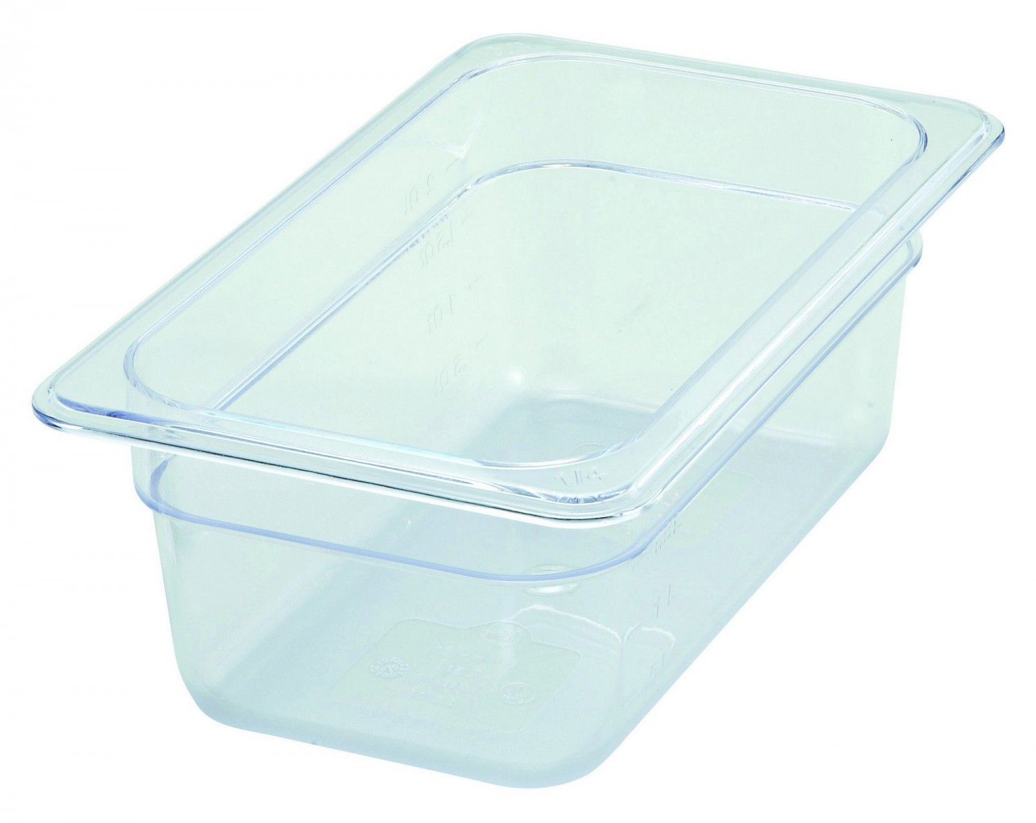 Winco SP7404 1/4 Size Food Pan 3-1/2""