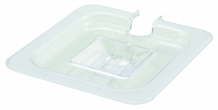 Winco SP7600C Slotted Cover for 1/6 Size Food Pan