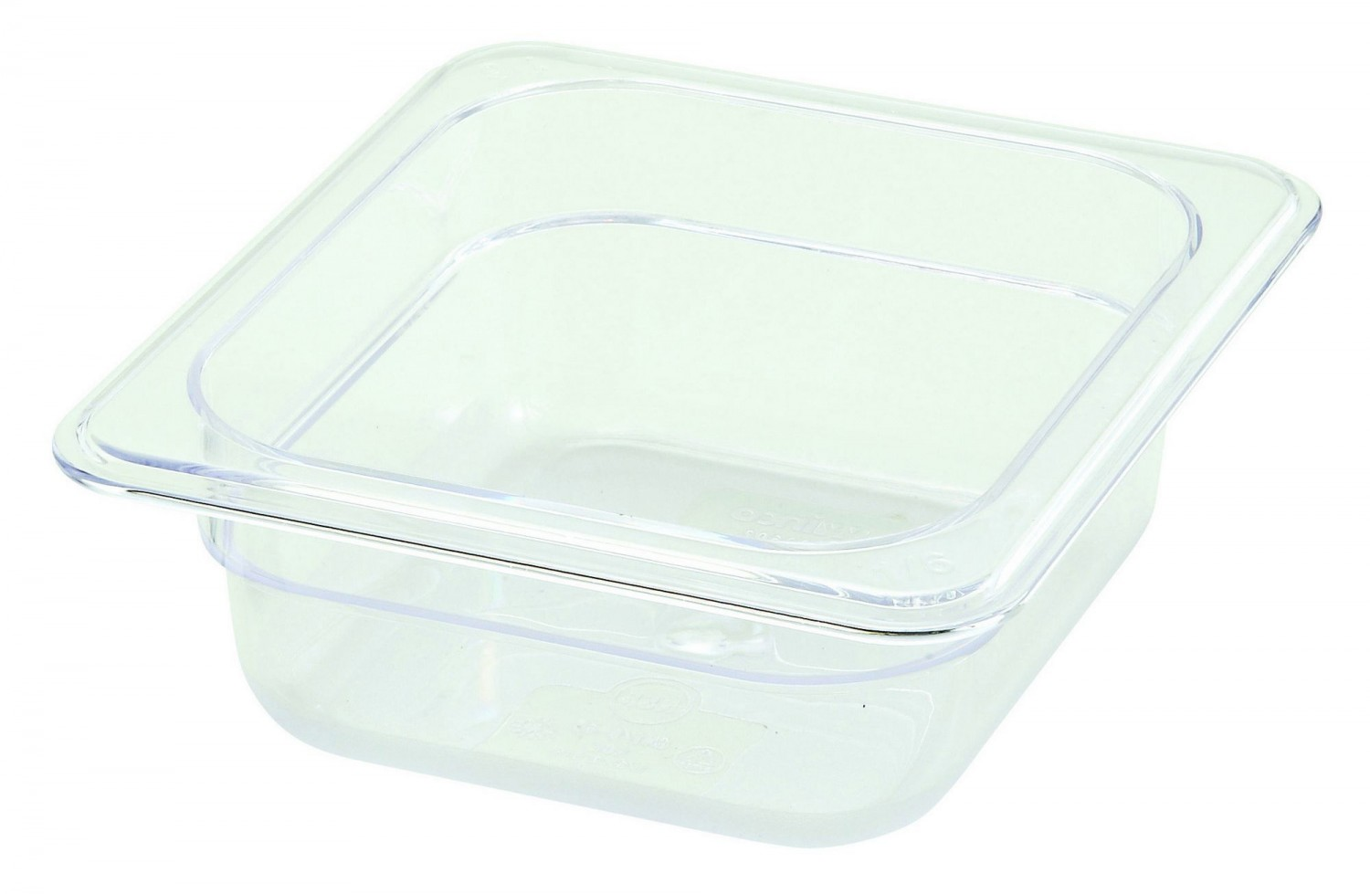 Winco SP7602 1/6 Size Food Pan 2-1/2""