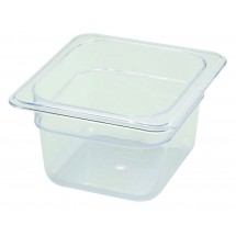 Winco SP7604 1/6 Size Food Pan Deep 3-1/2""