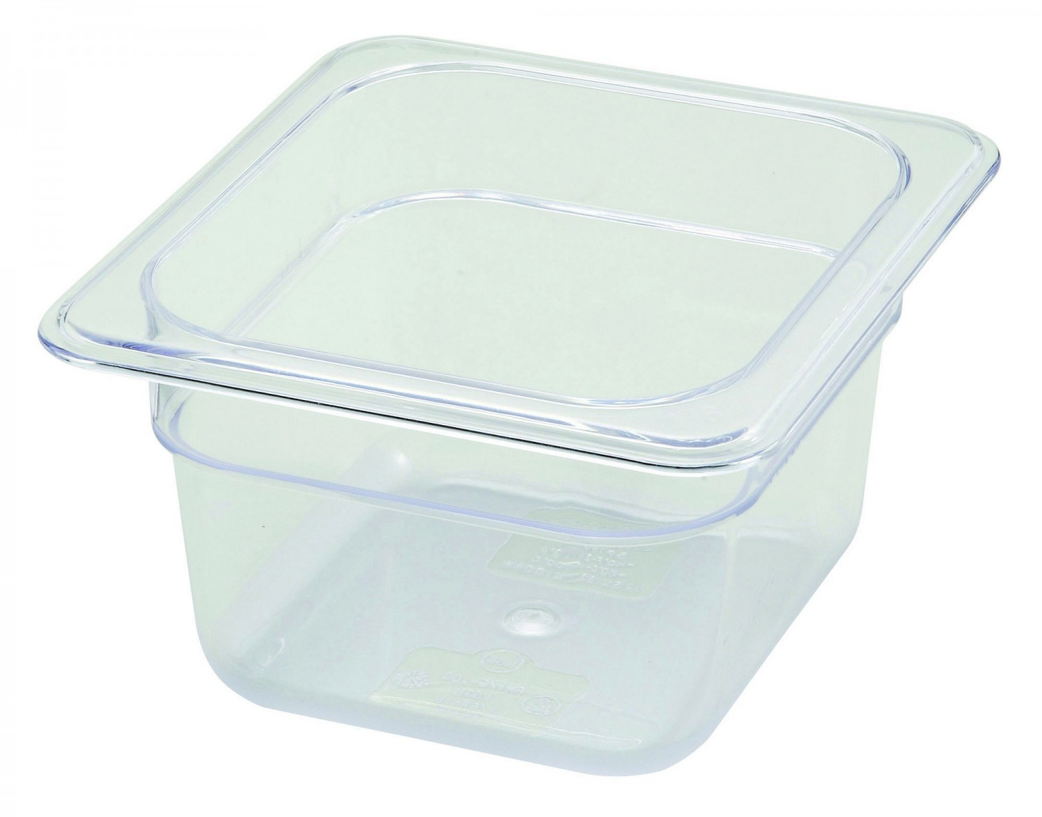 Winco SP7604 1/6 Size Food Pan 3-1/2""