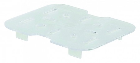 Winco SP76DS 1/6 Size Plastic Drain Shelf