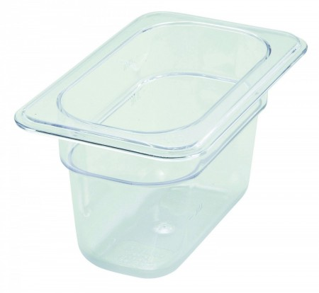 """Winco SP7904 1/9 Size Food Pan 3-1/2"""""""