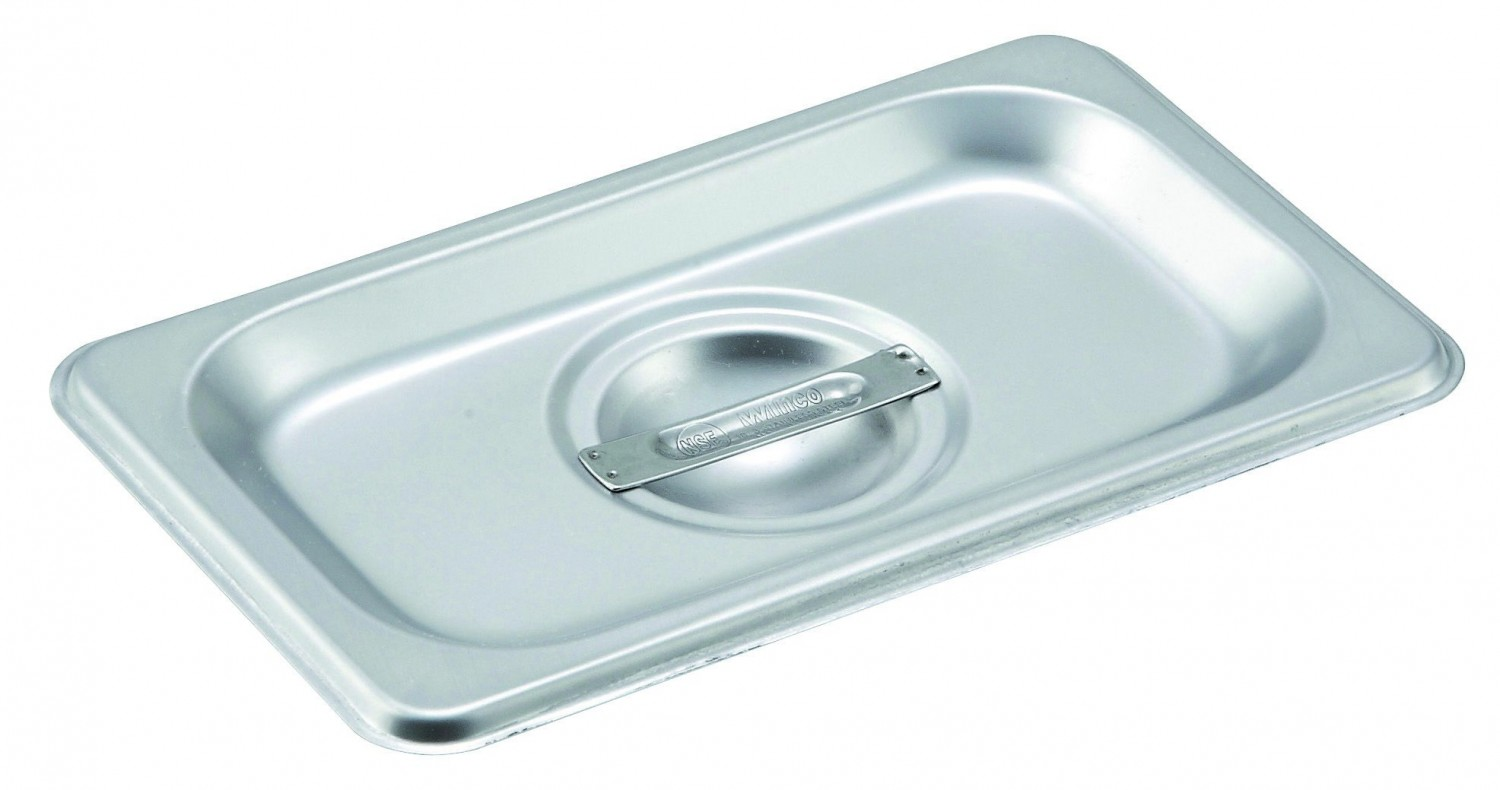Winco SPCN 1/9 Size Slotted Lid for Steam Pan