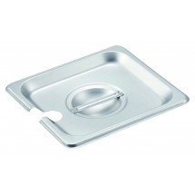 Winco SPCS 1/6 Size Slotted Lid for Steam Pan