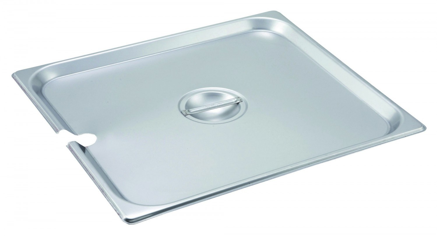 Winco SPCTT 2/3 Size Slotted Steam Pan Cover